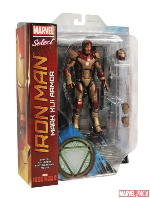 In Package Images Of Marvel Select Iron Man Mark 42 And War Machine Marvel has released new photos of Marvel Select Iron Man Mark 42 and War Machine from Iron Man 3.    View Post