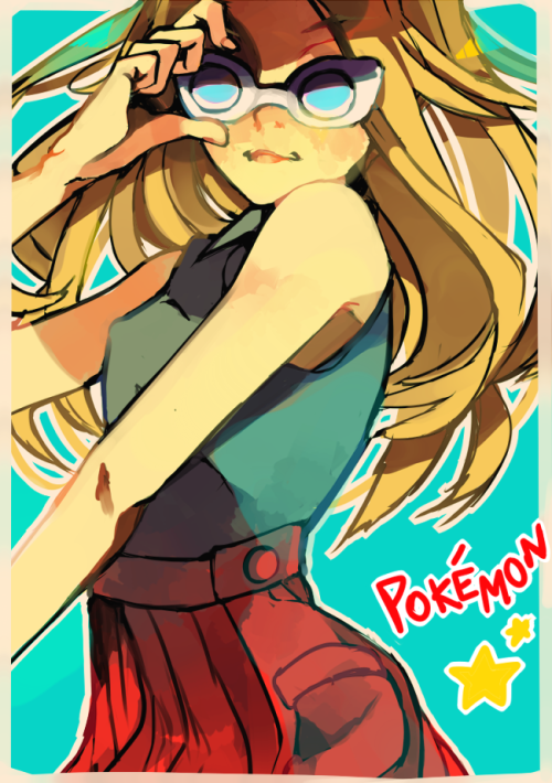 pokedexholders:  She is a total fashionita Source [x]