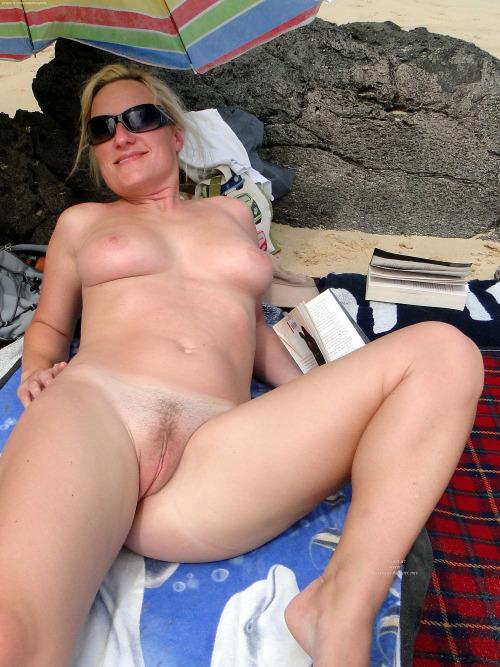 Candid beach voyeur bikini panties