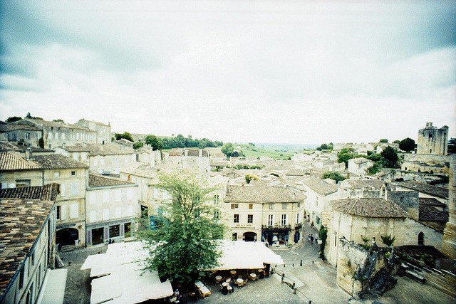 | ♕ |  Old market square in Saint-Émilion  | by © Marcio Serpa