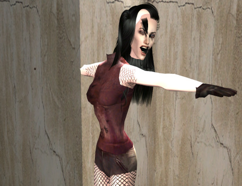 simsgonewrong:  Have you ever been so mad…you started glitching?