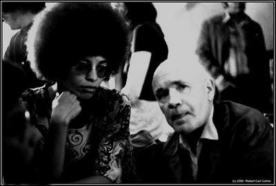 eightcookies:  Jean Genet w/ Angela Davis
