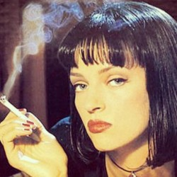 #miaWallace #pulpfiction #umathurman #stunning #perfect by iloverhcpx http://bit.ly/XOdH1J