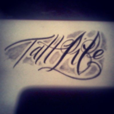 Its crazy #tattlife #script @capitoltattoo