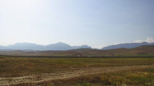 a view in Northern Afghanistan (near Mazar-e Sharif)