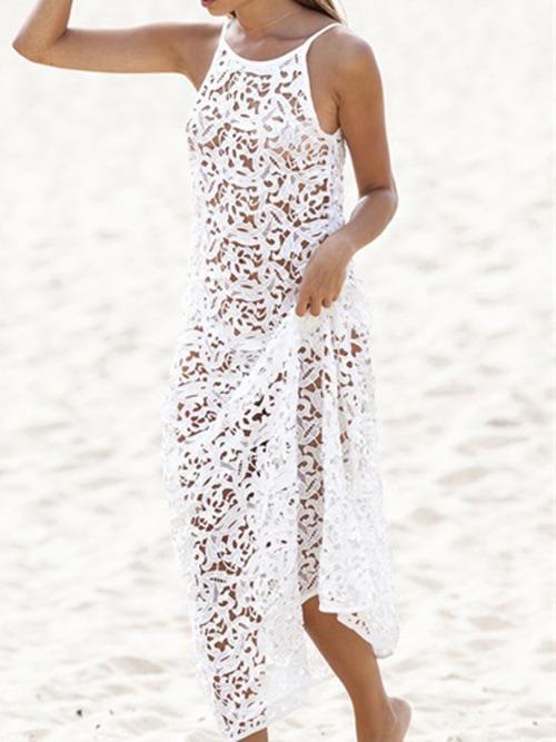 Sexy backless beach wedding dresses