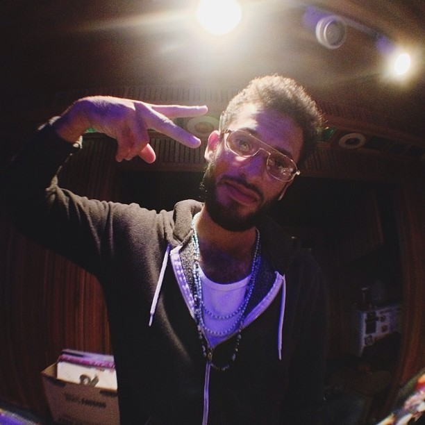 In the studio with @solzilla and company (at Robert Lang Studios)