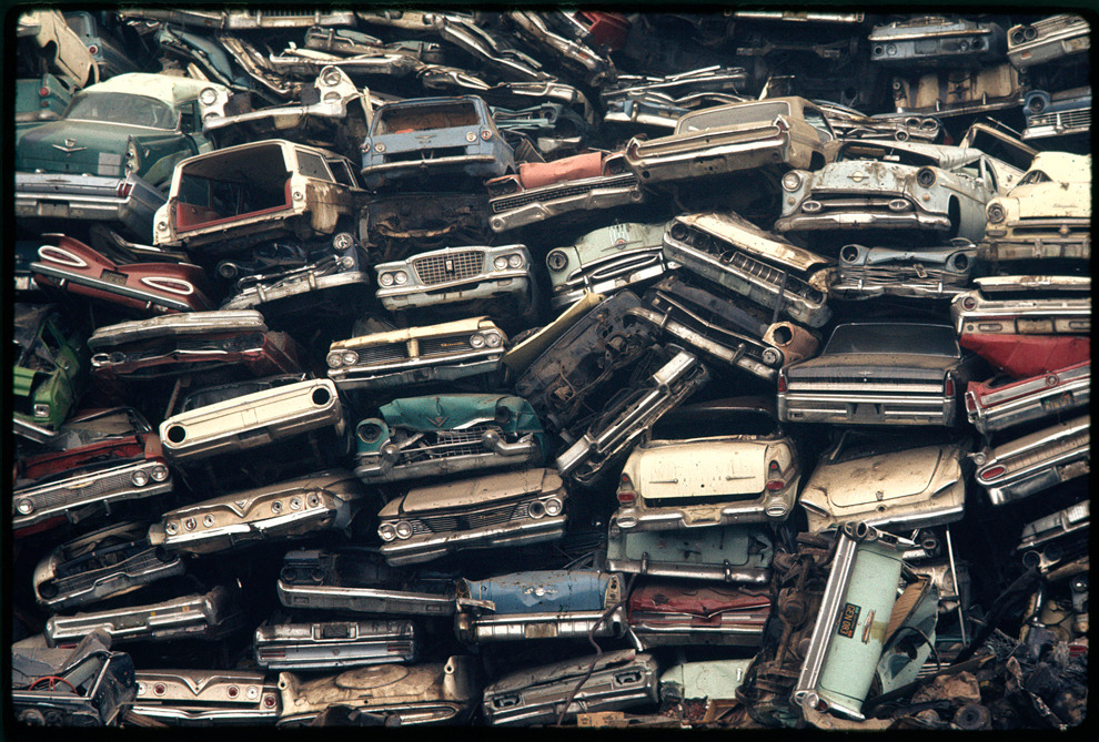 Auto dump. Escondido, California, April 1972. (Gene Daniels/NARA/EPA)