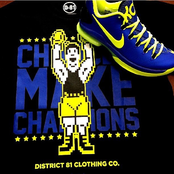 New @district_81 #district81 #tshirts in! Paired with #nike #kd