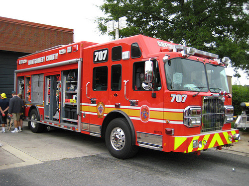 Chevy Chase FD (Montgomery County, Maryland), Engine 707