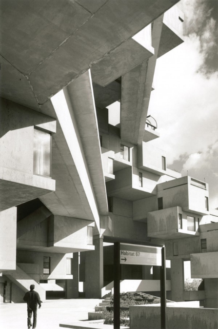 Habitat 67 Montreal, Canada by architect Moshe Safdie Source: architectuul