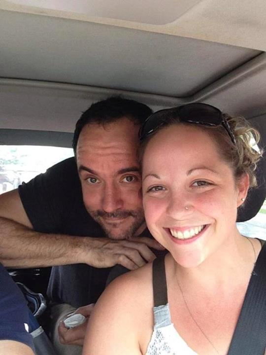 Most hitchhiker stories don't end like this: When Emily Kraus and her boyfriend were heading towards Pennsylvania's Hershey Park Stadium over the weekend to see her favorite band, the Dave Matthews Band, one thing they didn't expect to do was pick up a hitchhiker. But they did anyway—which was a smart move, because Dave Matthews was stranded with a flat tire on his bike, miles away from the venue, without a cell phone. Dave, obviously appreciative, hooked up Kraus and her boyfriend with front-row seats and dinner backstage. So that's pretty awesome. (image via Facebook)