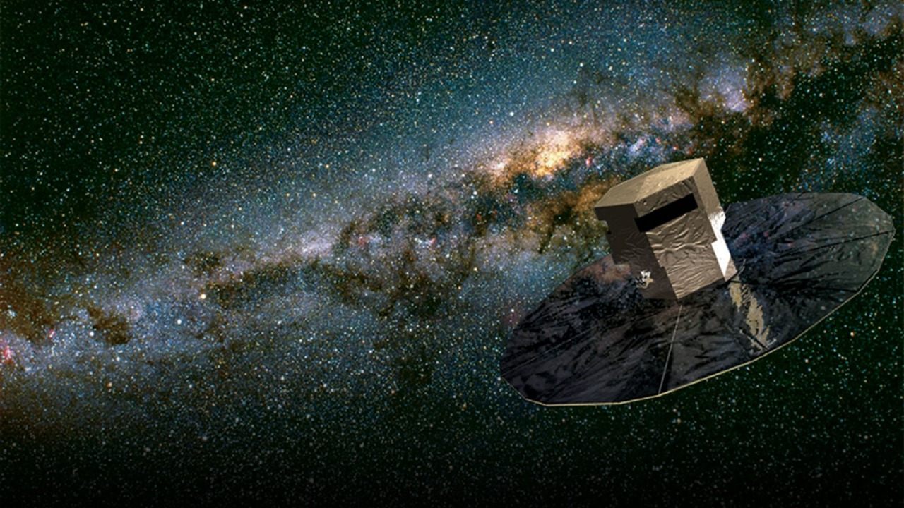 thatscienceguy:  The Gaia Space Telescope, Set to launch in october 2013 by the European Space Agency. It is so powerful that it could see a tennis ball on the surface of the moon!