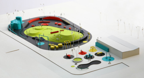 archimodels:  © WWAA - centre for city sports - warsaw, poland - 2010