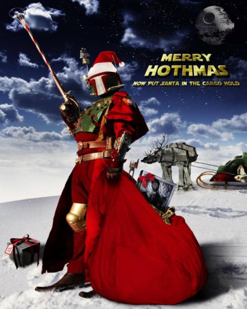 Merry Hothmas Ft. Steampunk Boba Fett Photog: Cory McBurnett Artist, Musician, Human Being