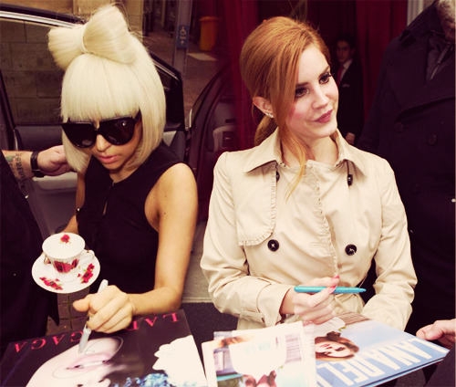 Lana del rey and lady gaga