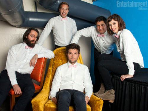 Courting Sketchfest: Party Down Reunion: Lizzy Caplan, Adam Scott, Ken Marino, Ryan Hansen, and Martin Starr by Dan Dion
