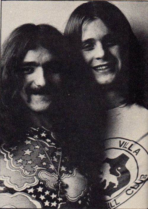 handsown-homegrown:  Geezer & Ozzy (Circus, March 1973)