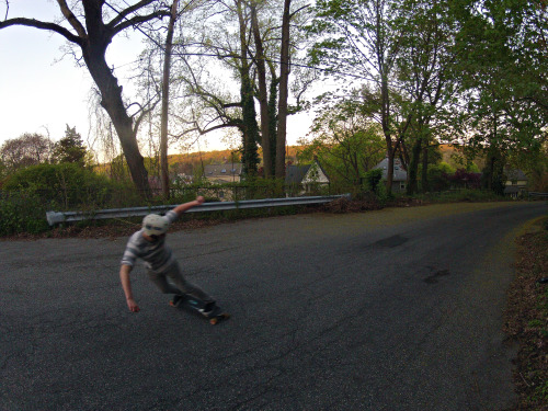 toeside with some sweet blur