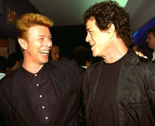 thecattlebaron:  I always thought it was impossible to make Lou Reed laugh.  Culturally relevant.Take note