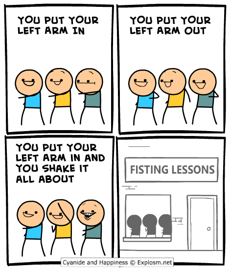 Heh… gotta love Cyanide and Happiness