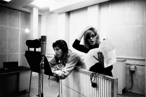 mudwerks:  (via In the Studio #120) Terence Stamp and Monica Vitti