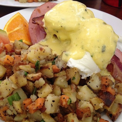 Double Bacon Benny (at Diner Deluxe)