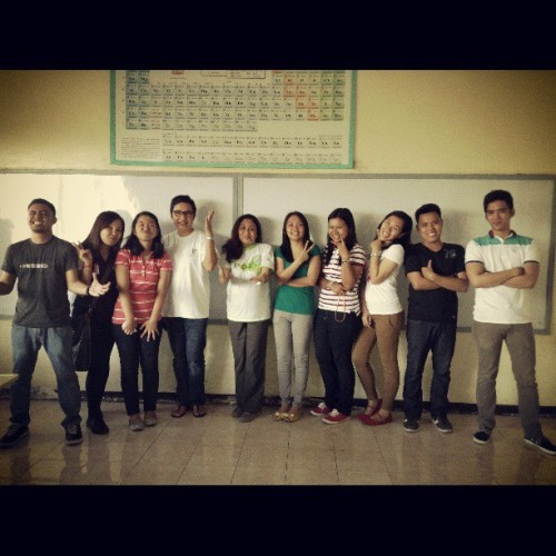April 2013-Chemical Engineers. Sir Reji, wacky nga po e. :))