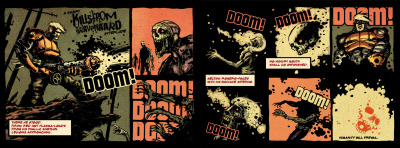 another small preview of Tales of Dead Earth 3. DOOOOOM!