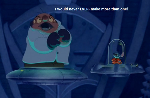 blue-laggoon:  Jumba you lying little shit