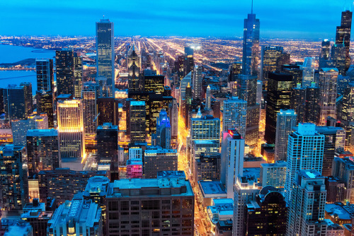 skynoir:   Towering Chicago on Flickr. Second City Skyline