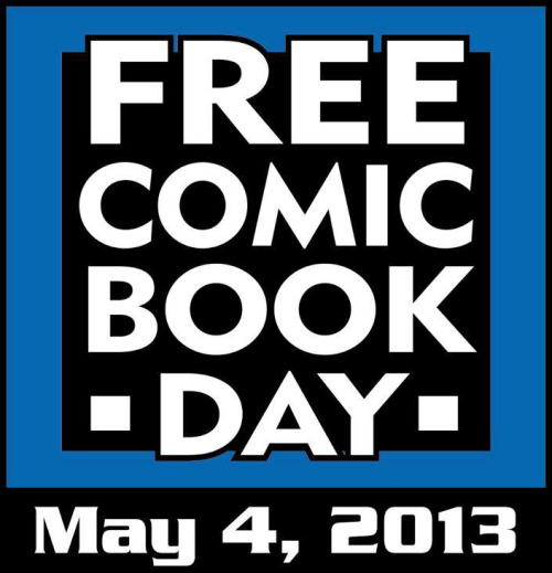 herochan:  Free Comic Book Day is Here! Use this store locator to find your nearest participating comic book store.