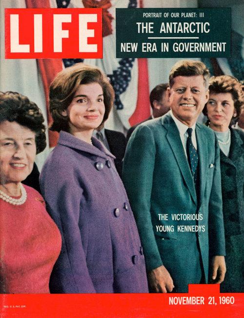 gjermani:  Life Magazine Cover with JFK