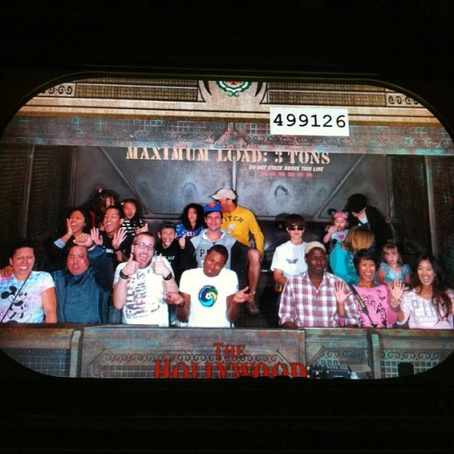 Tower of Terror? NBD.  (at The Twilight Zone Tower of Terror)