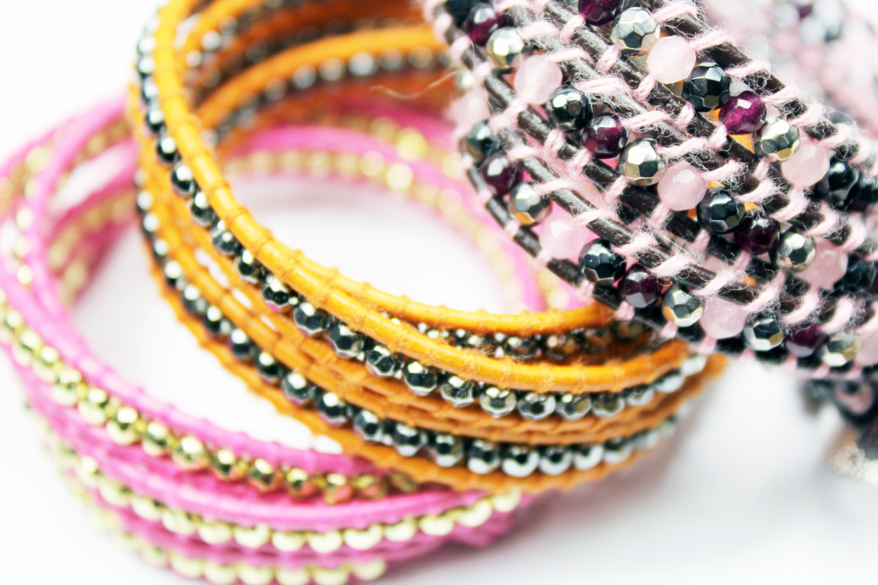 Just in stock. Carnival Collection Bracelets, we've got some amazing colour ways to brighten up these dull days. They'll be on the site soon and at the stall.