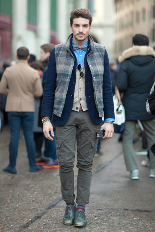 Check out my Pitti Uomo 2013 coverage for the Daily Details Blog Just found out this is Mariano Di Vaio of www.mdvsytyle.com via Instagram. SO COOL! :D xx