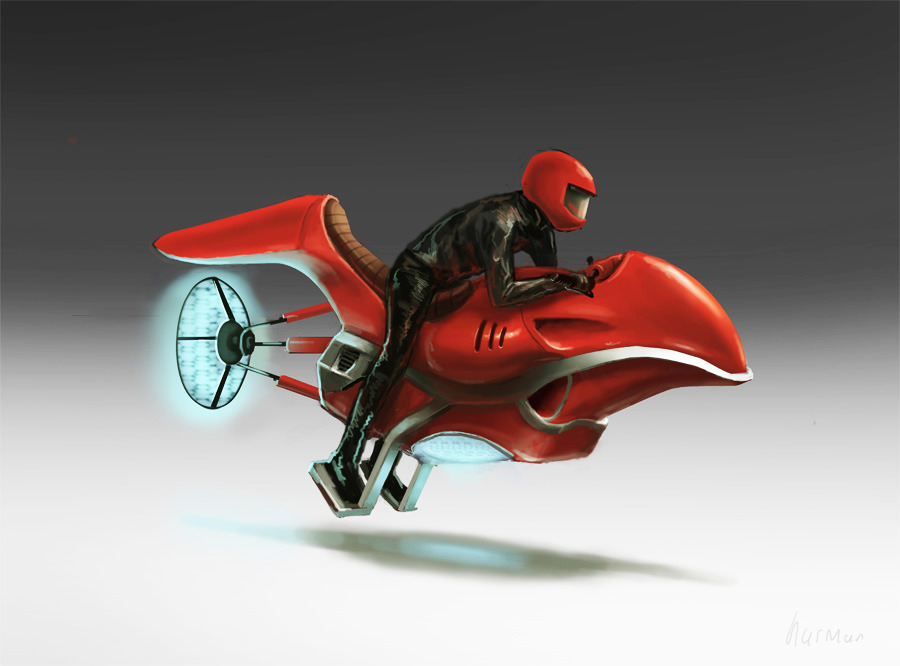 hoverbike by ~peterhurman