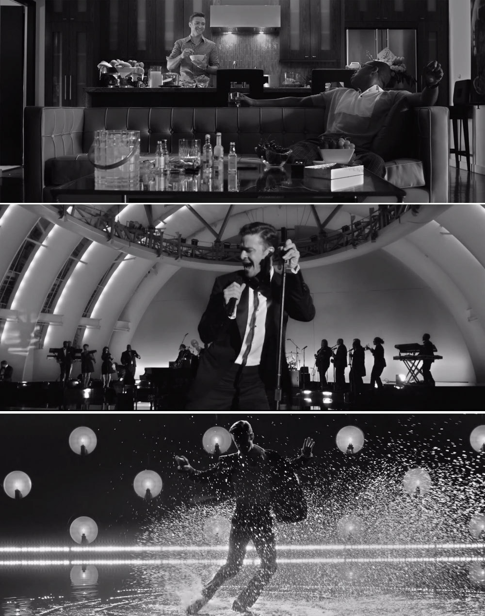"billboard:  Justin Timberlake's ""Suit & Tie"" video has arrived! Watch here: http://www.billboard.com/articles/columns/pop-shop/1539206/justin-timberlake-cleans-up-in-suit-tie-video  This guy just keeps it coming. I don't even know how to handle it all."