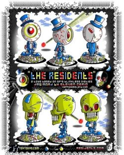 "my print promoting the vinyl toys i designed, based on THE Residents.still of my art from the cdrom THE RESIDENTS. ""BAD DAY ON THE MIDWAY"" cd rom#cerio #eyeballs #monsters #eyes #theresidents #toys #vinyl #vinyltoys #toytokyo #skull #eyeballs #drawing #artist #psychedelic #psychedelicartist #psychedelicart #trips #trilateral #art #artist #famousartist #poster #ink #tripstagram #art #artist #famousartist #comics #comix #tripstagram #picoftheday #carnivals #skulls #outsiderartist #lowbrow"
