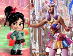 I HAVE COME TO THE CONCLUSION THAT KATY PERRY WAS VANELLOPE VON SCHWEETZ WHEN SHE WAS A CHILD.