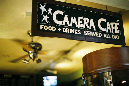 The Camera Cafe is a real place! It lives in Londontown. ♣Ush. ツ.