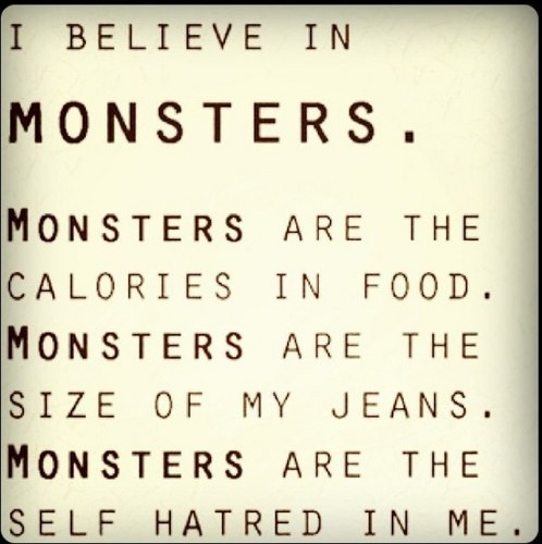 Monster deep inside me