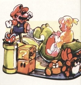 suppermariobroth:  Illustration of a rideable Yoshi from Japanese malls.  Why don't we have those here?