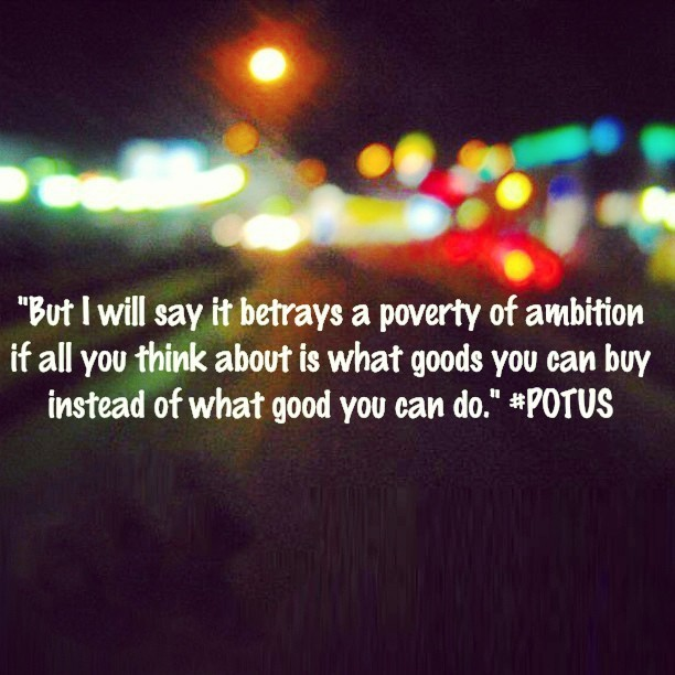 Poverty of Ambition Betrayed (at Perimeter Pointe)