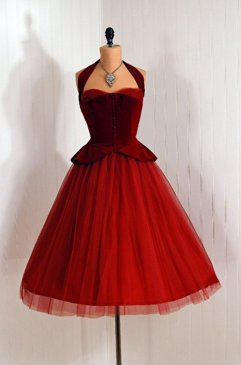 omgthatdress:  Dress 1950s Timeless Vixen Vintage