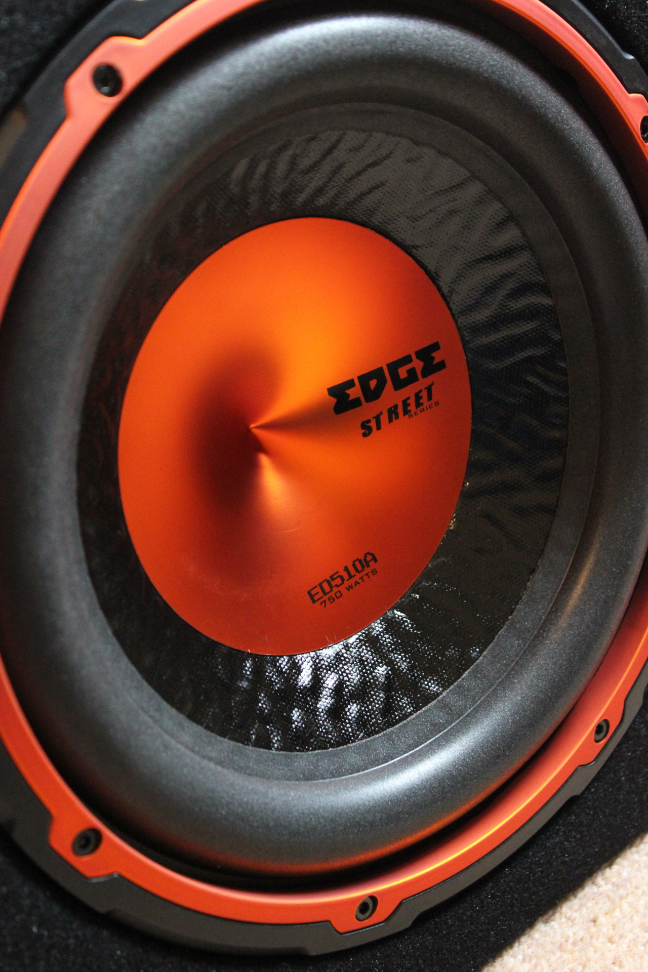 "10"" Edge Subwoofer, 750 WATTS - 08/05/13"