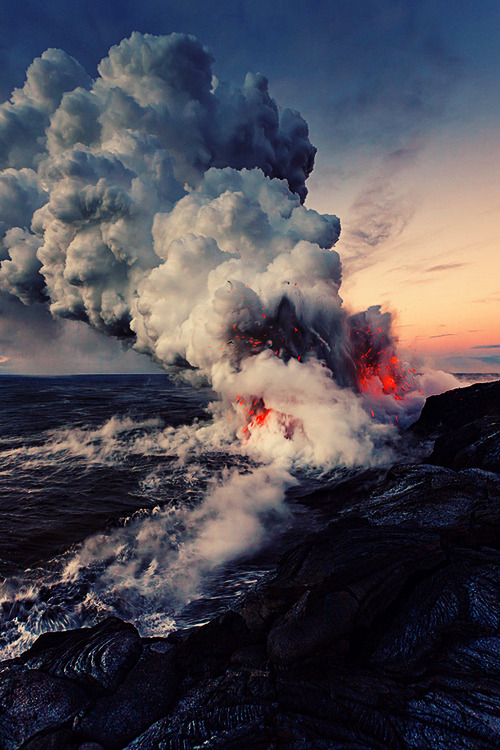 Lava photography by Tom Kualii