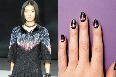 (via moveSlightly: Chanel Fall 2013 Nail Art on TeenVogue.com)