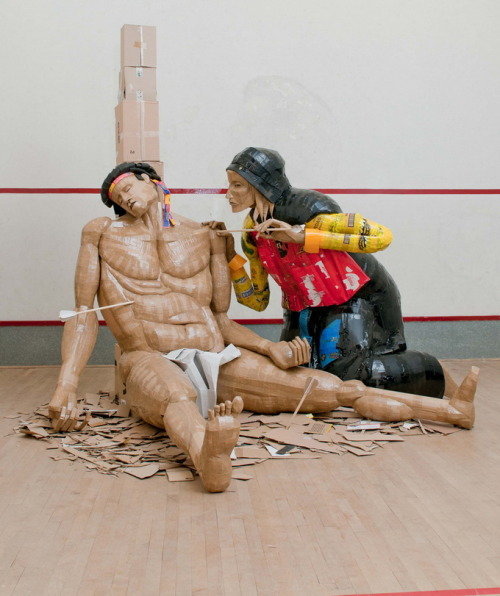 Cardboard sculptures by Dylan Shields |  These are phenomenal.