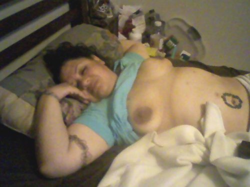 Submitted picture!! Thanks motodaddy1 (motomitch429@&#8230com)&#160!! I can never get enough of your girl! Thanks for sending! Loving her huge areolas and nipples. MORE!!